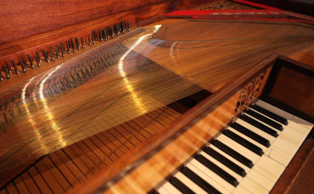 Tafelpiano Muziek Museum Zutphen